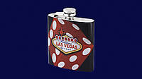 Металлическая фляга Las Vegas