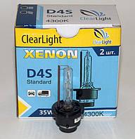 Лампа штатного ксенона D4S ClearLight 35w 4300K