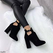 Ботинки на широком каблуке, фото 2