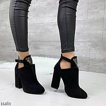 Ботинки на широком каблуке, фото 3