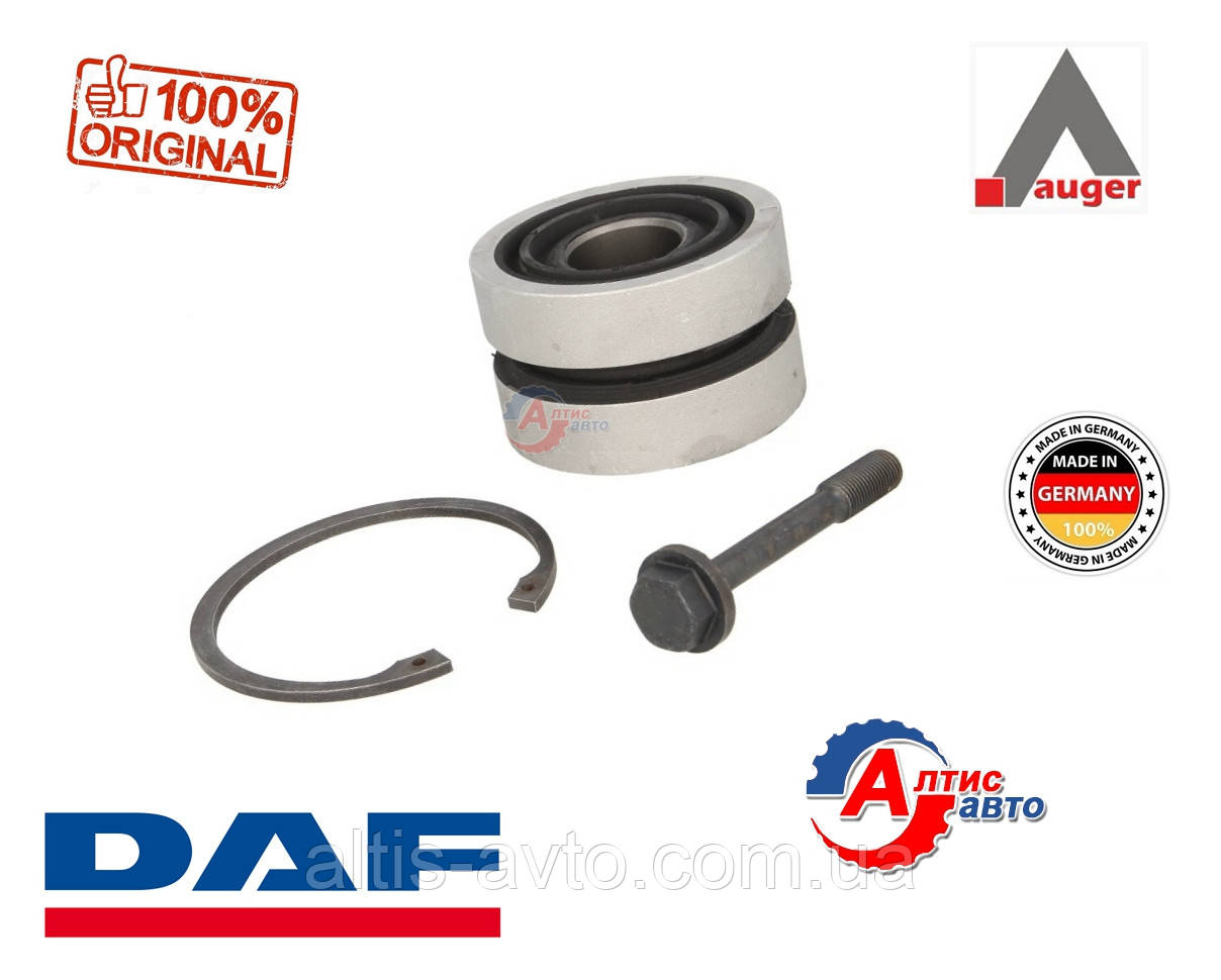 Сайлентблок ремкомплекта лучевой тяги DAF CF 85, 105, XF 95, 75CF, CF65 Евро 5-3 Auger, (M24x108x68 mm)