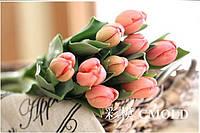 """Алмазная вышивка """"Картина корзина с тюльпанами"""""""