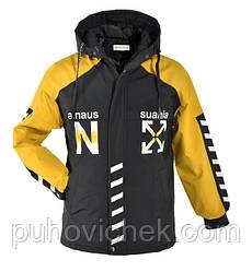 Стильная куртка для мальчика подростка весна осень размеры 128-152