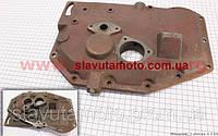 Кришка блоку двигуна ліва (довга) чавунна 12отв. R180NM/R190N/R195NM