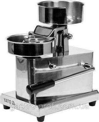 Машинка, пресс для гамбургеров - ручной YatoGastro YG-03400, фото 2