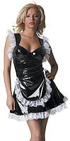 Виниловый костюм горничной, фото 1