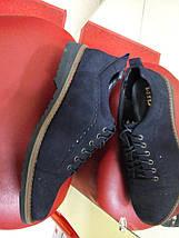 Туфли мужские из натуральной кожи-нубука МИДА 11135., фото 2