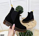 Ультрамодные демисезонные ботинки женские, фото 2