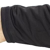 Термобелье ESDY A152 XL Black мужское спортивное теплое нижнее белье стрейч ветрозащитное флисовое, фото 10