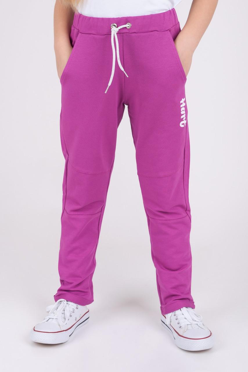 Спортивные штаны для.девочки Малиновый  р. 116, 122
