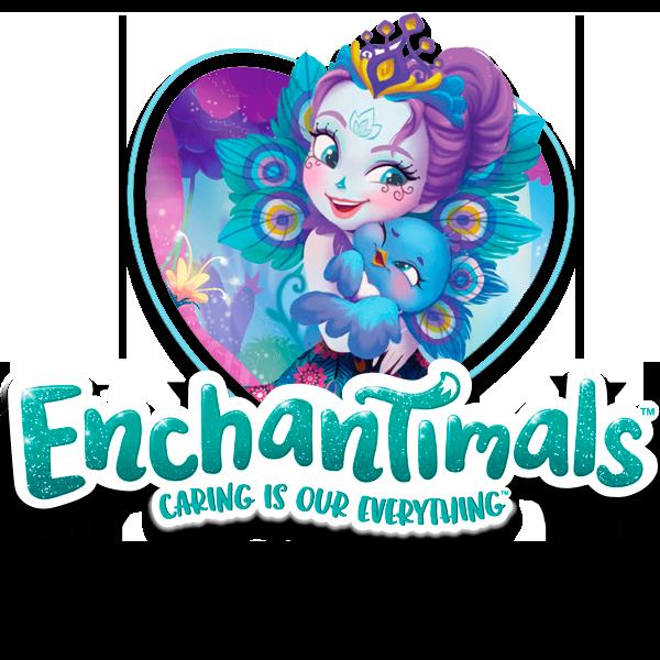 Кукла Enchantimals Екатерина Слон и друг Антик из серии большие друзья (FKY73)