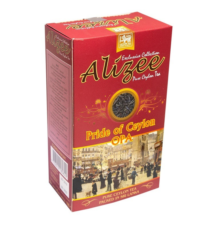 Цейлонський чорний чай Алізе Гордість Цейлону OPA крупнолистовий 100 грам
