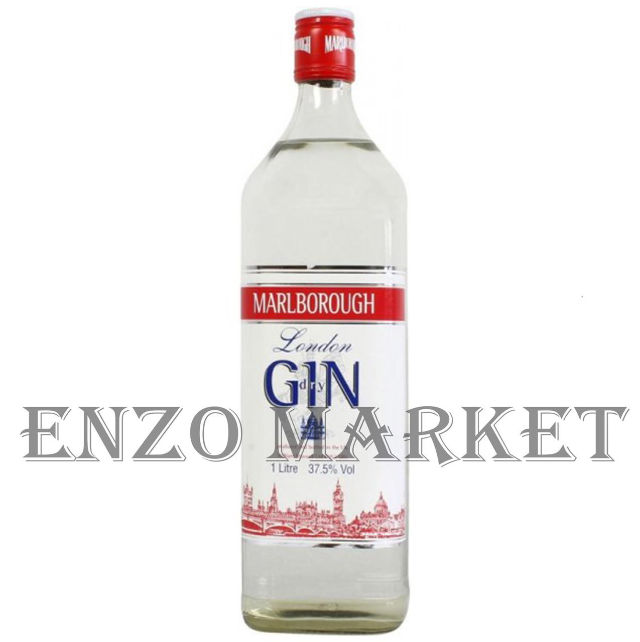 Джин Marlborough (Мальборо) 37.5%, 1 литр