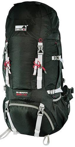 Туристический рюкзак 55 л. High Peak Sherpa 55+10, черный,  921776