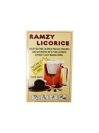 Лакрица (Солодка) Ramzy Licorice 160 грамм