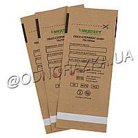 Крафт-пакеты для паровой и воздушной стерилизации, 75х150 мм, 100 шт, коричневые