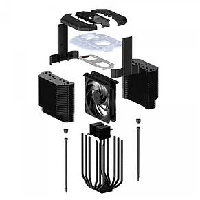 Кулер процессорный CoolerMaster MasterAir MA620M (MAM-D6PN-120PA-R1), Intel: 2066/2011-3/2011/1151/1150/1155/1156, AMD:, фото 3
