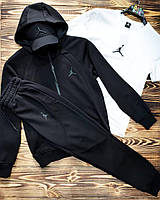 Спортивный костюм Jordan, трехнить (Реплика)
