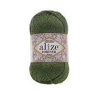 Alize Forever Crochet Sim № 35 зеленый