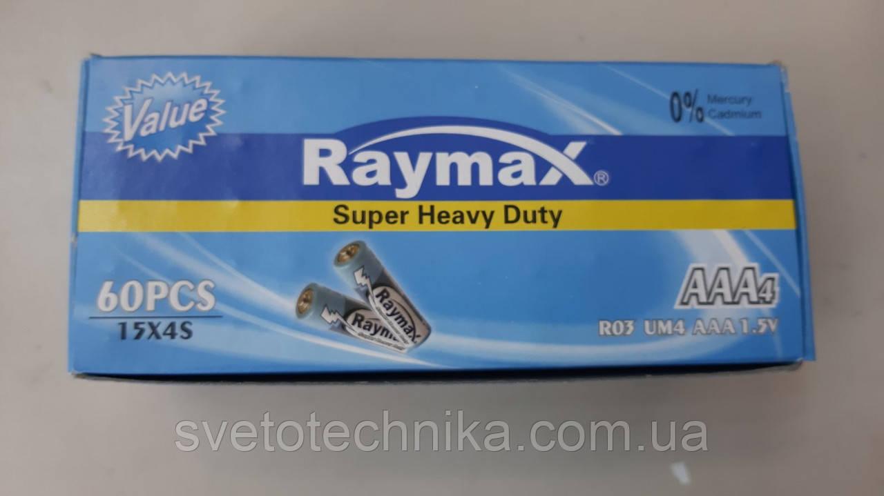 Батарейка (уп. 60шт.) Raymax R3 UM4 AAA 1.5V