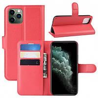 Чехол-книжка Litchie Wallet для Apple iPhone 11 Pro Max Red