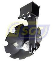 Стійка комплектна права з диском 560 на борону Tolmet, фото 1