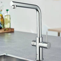 Смеситель для кухни с системой очистки и минерализации водопроводной воды Grohe Blue Home 31454000