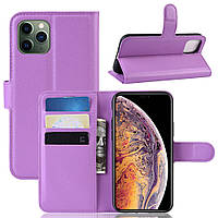 Чехол-книжка Litchie Wallet для Apple iPhone 11 Pro Max Violet
