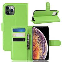 Чехол-книжка Litchie Wallet для Apple iPhone 11 Pro Max Green