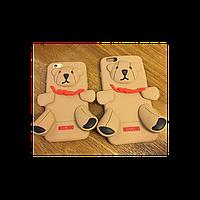 Чехол 3D Moschino медведь маленький для  iPhone 5/5S