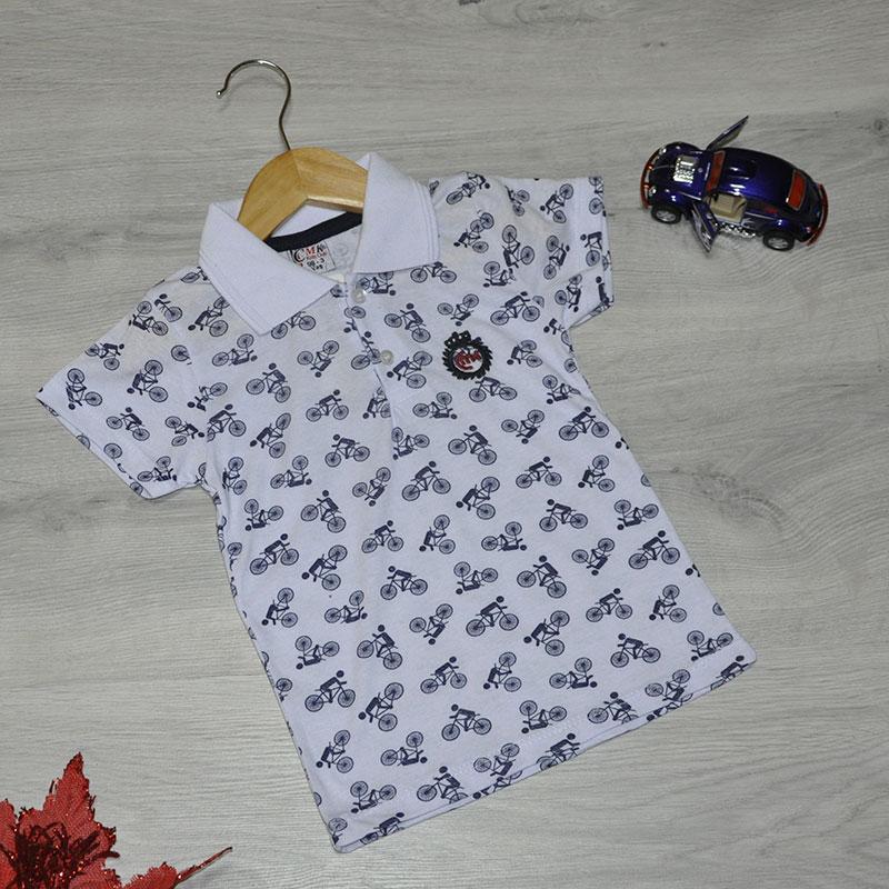 Детская футболка, трикотаж, для мальчика  3-7 лет (5 ед. в уп)