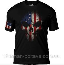 Футболка 7.62 Design betsy ross flag skull 7.62 design premium men's t-shirt