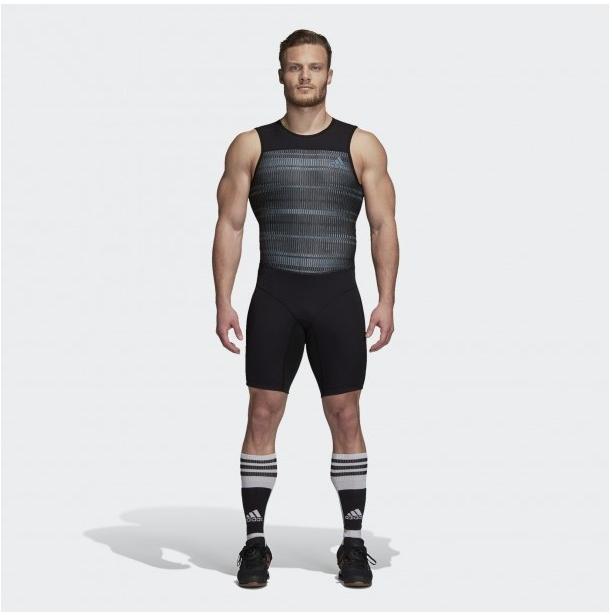 Костюм для тяжелой атлетики Adidas Crazypowersuit (черный, DJ2998)
