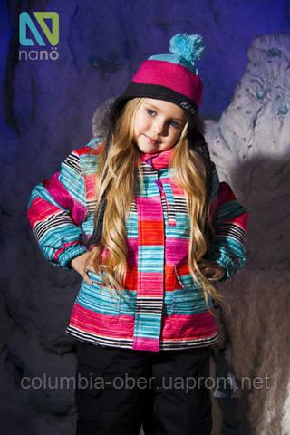 Зимний комплект для девочки NANO 266. Размеры  6 - 7.