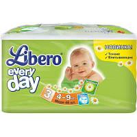Подгузник Libero Everyday Natural Midi 4-9кг 46 шт (7322540613483)