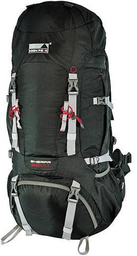 Туристический рюкзак 65+10 л. High Peak Sherpa 65+10, черный,  921777
