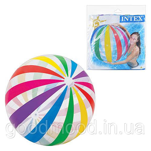 М'яч 59065  надувний, 107 см, кул., 25-26 см