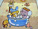Плед микрофибра двухслойный Веселое купание, фото 6