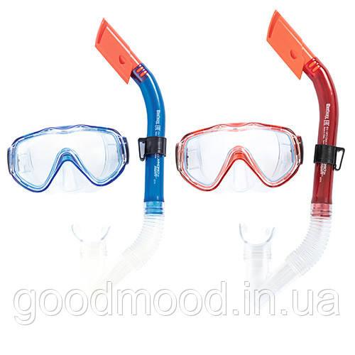 Набір для плавання BW 24028 маска, трубка, 2 кольори.