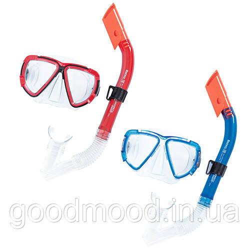 Набір для плавання BW 24029 маска, трубка, 2 кольори.