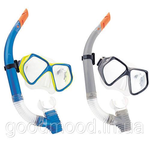 Набір для плавання BW 24003 маска, трубка, 2 кольори