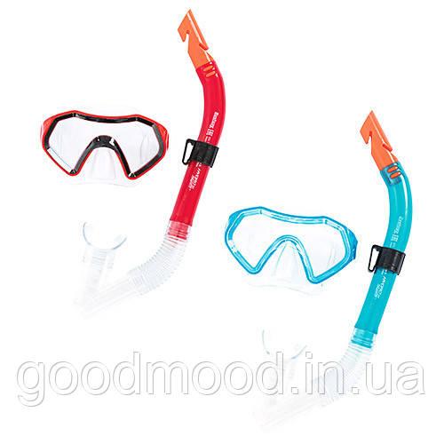 Набір для плавання BW 24025 маска, трубка, 2 кольори.