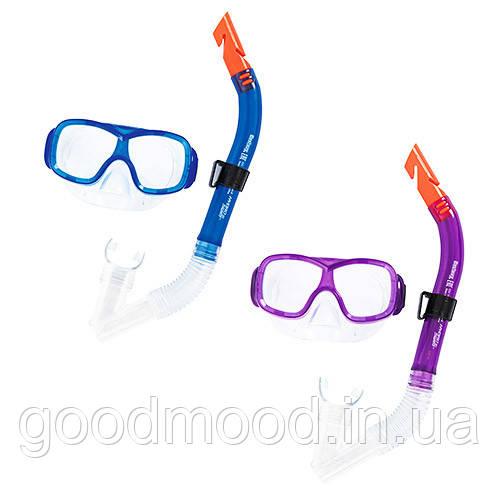 Набір для плавання BW 24032 маска, трубка, 2 кольори.