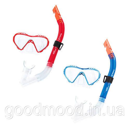Набір для плавання BW 24026 маска, трубка, 2 кольори.