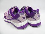 Детские, подростковые, текстильные, дышащие кроссовки для девочки тм ZOLONG,размер 35,36,37,38,39., фото 4