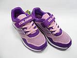 Детские, подростковые, текстильные, дышащие кроссовки для девочки тм ZOLONG,размер 35,36,37,38,39., фото 2