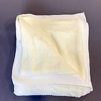 Плед детский теплый молочный 80х95см