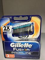 Картриджи Gillette Fusion ProGlide Оригинал 2 шт в упаковке производство Германия