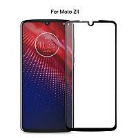 Защитное стекло с рамкой для Motorola Moto Z4