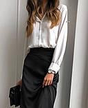 Сорочка жіноча біла, чорна, 42-44, 44-46, фото 4